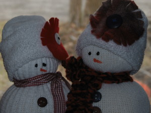 Mr. & Mrs. Frost close up